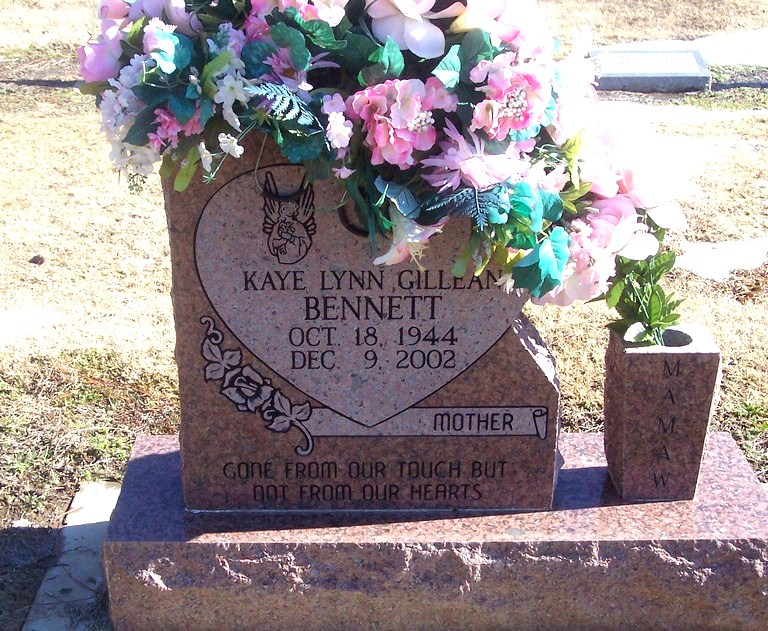 Kaye Lynn <i>Bennett</i> Gillean
