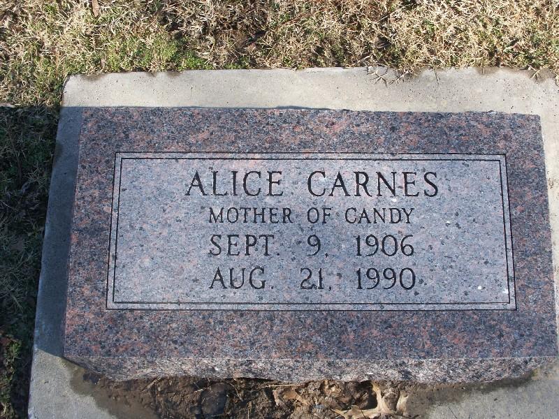Alice Ann <i>Reed</i> Carnes