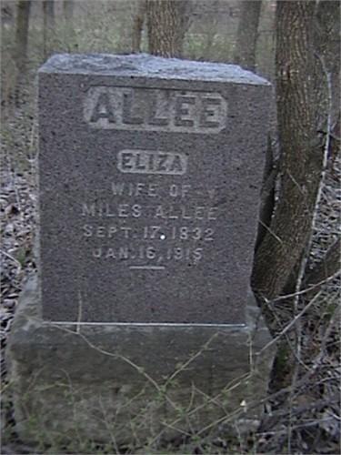 Eliza <i>Hill</i> Allee