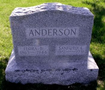 Flora B. <i>Rhodes</i> Anderson