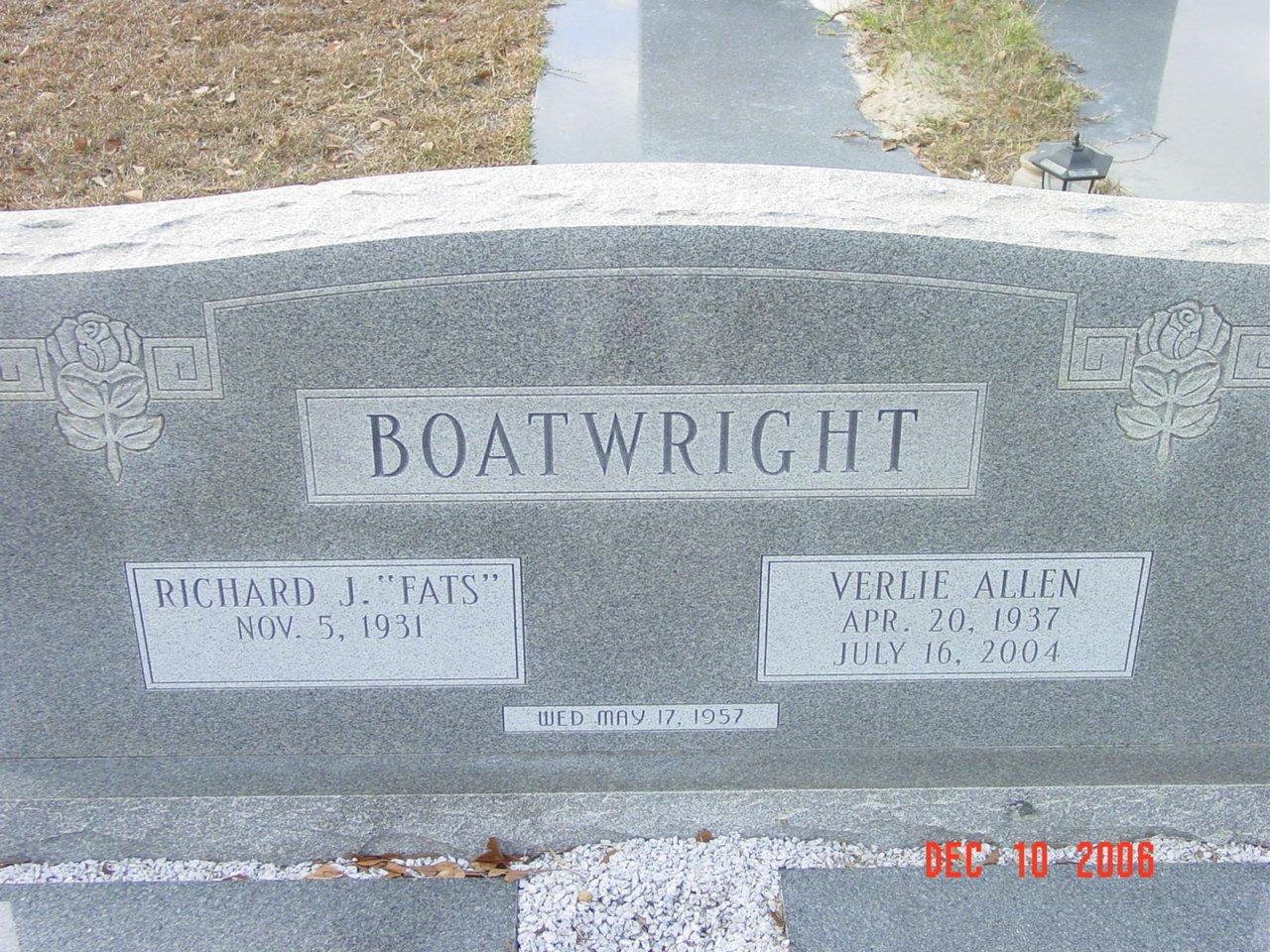 Verlie Mavis <i>Allen</i> Boatwright