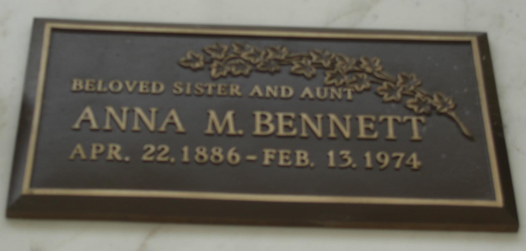 Anna M. Bennett