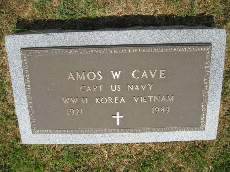 Amos William Cave, Jr