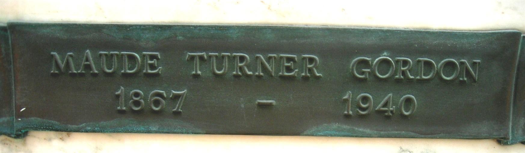 Watch Maude Turner Gordon video