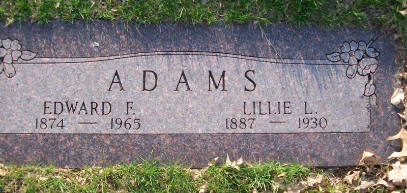 Edward Franklin Adams