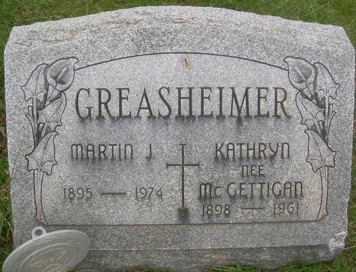 Kathryn <i>McGettigan</i> Greasheimer