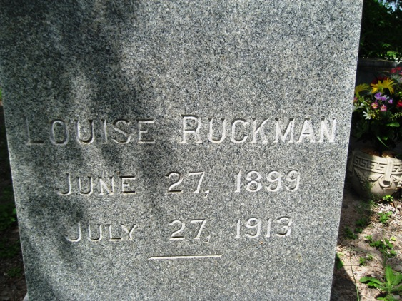 Mary Louise Louise Ruckman