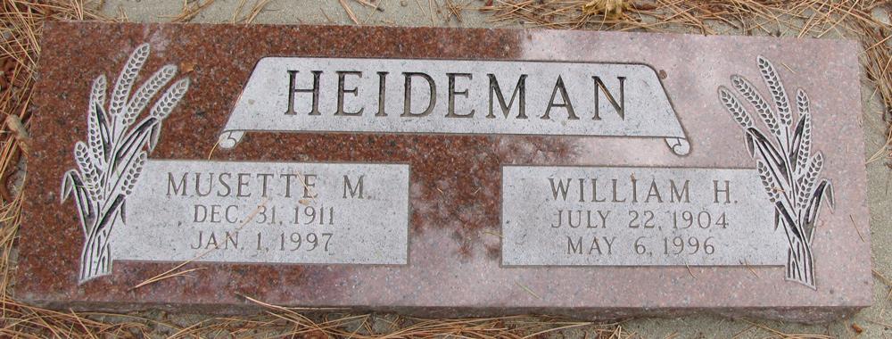 Musette Martha <i>Clark</i> Heideman