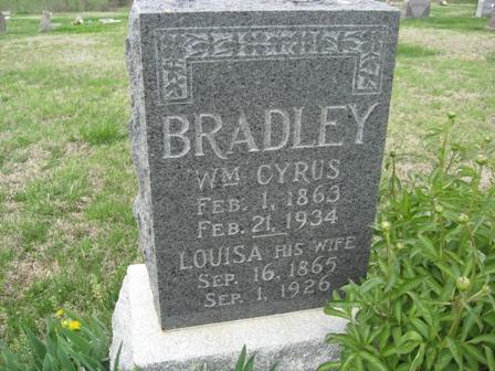 Louisa <i>Chaney</i> Bradley