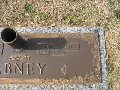 Lula <i>Guin</i> Abney