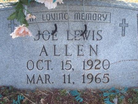 Joe Lewis Allen, Sr
