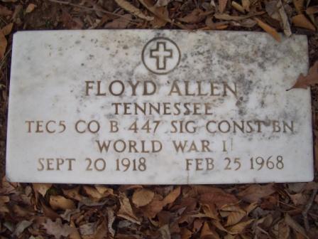 TEC5 Floyd Allen
