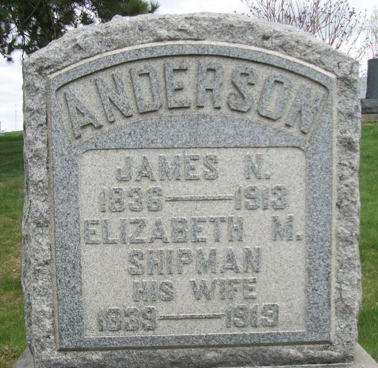 Elizabeth M <i>Shipman</i> Anderson