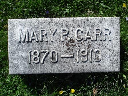 Mary Priscilla Mollie <i>Mowrey</i> Carr