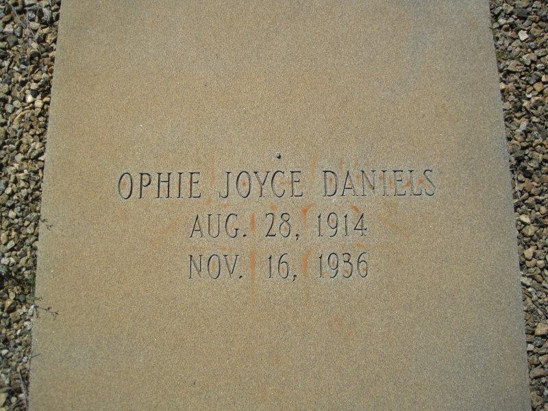Opie Joyce Daniels