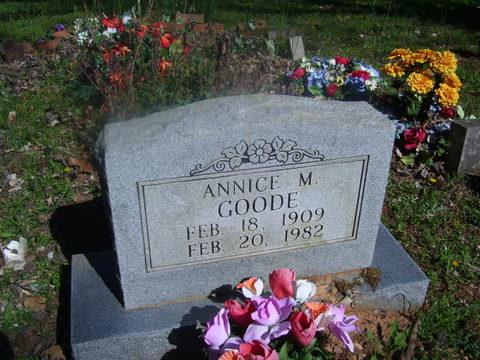 Annice May <i>Rose</i> Goode