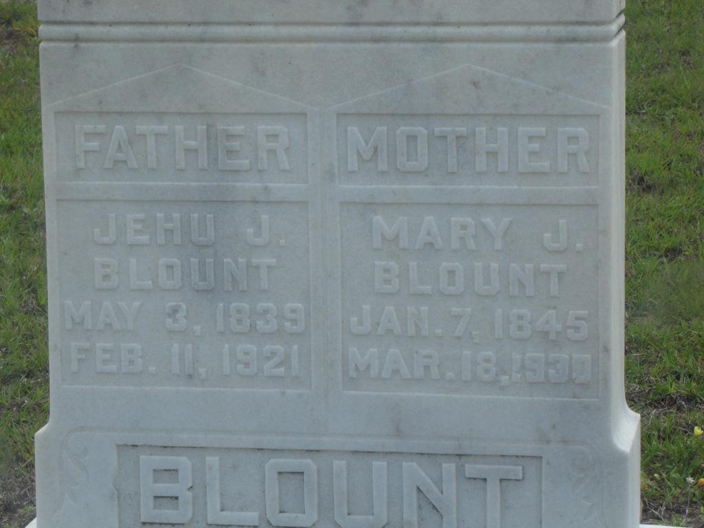 Mary Jane <i>Hendry</i> Blount
