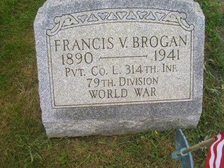 PVT Francis Vincent Brogan