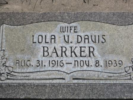 Lola Vancy <i>Davis</i> Barker