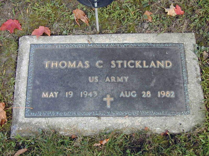 Thomas Chester Stretch Stickland