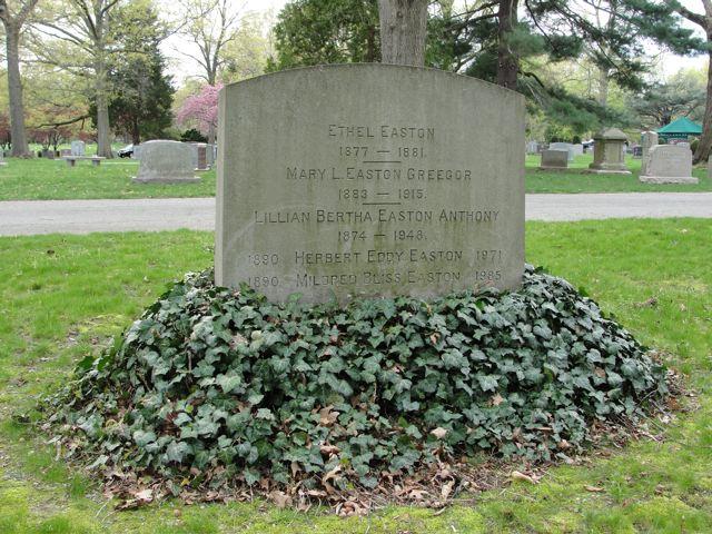 Lillian Bertha <i>Easton</i> Anthony