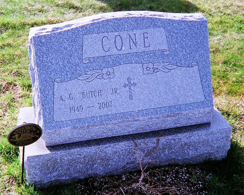 Alfred George Butch Cone, Jr