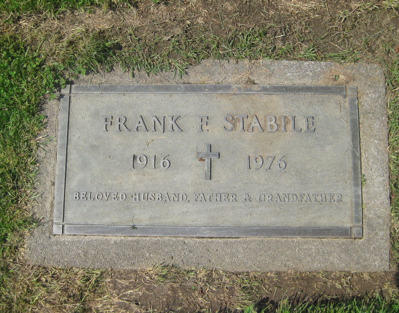 Frank Francis Stabile