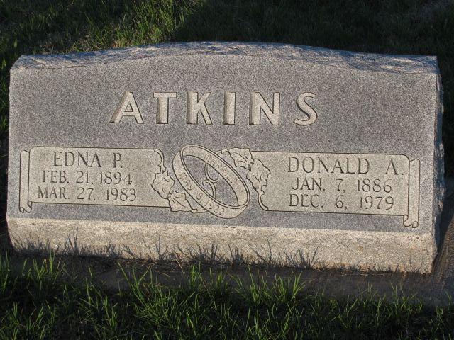 Edna Pearl <i>Throop</i> Atkins