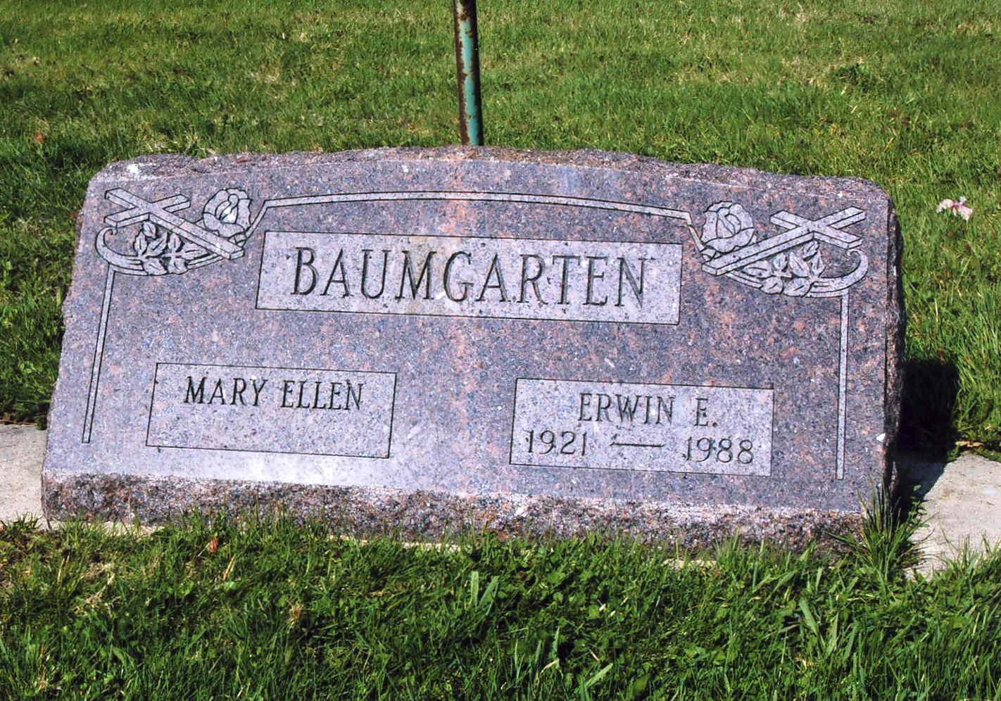 Mary Ellen <i>Gardner</i> Baumgarten