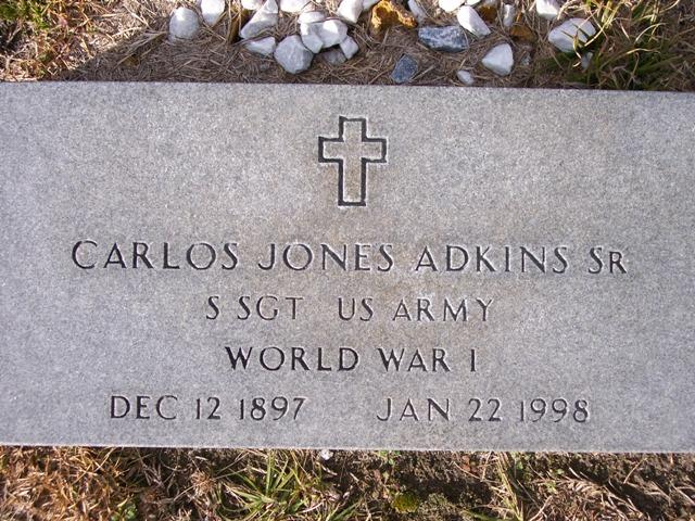 Carlos Jones Adkins, Sr