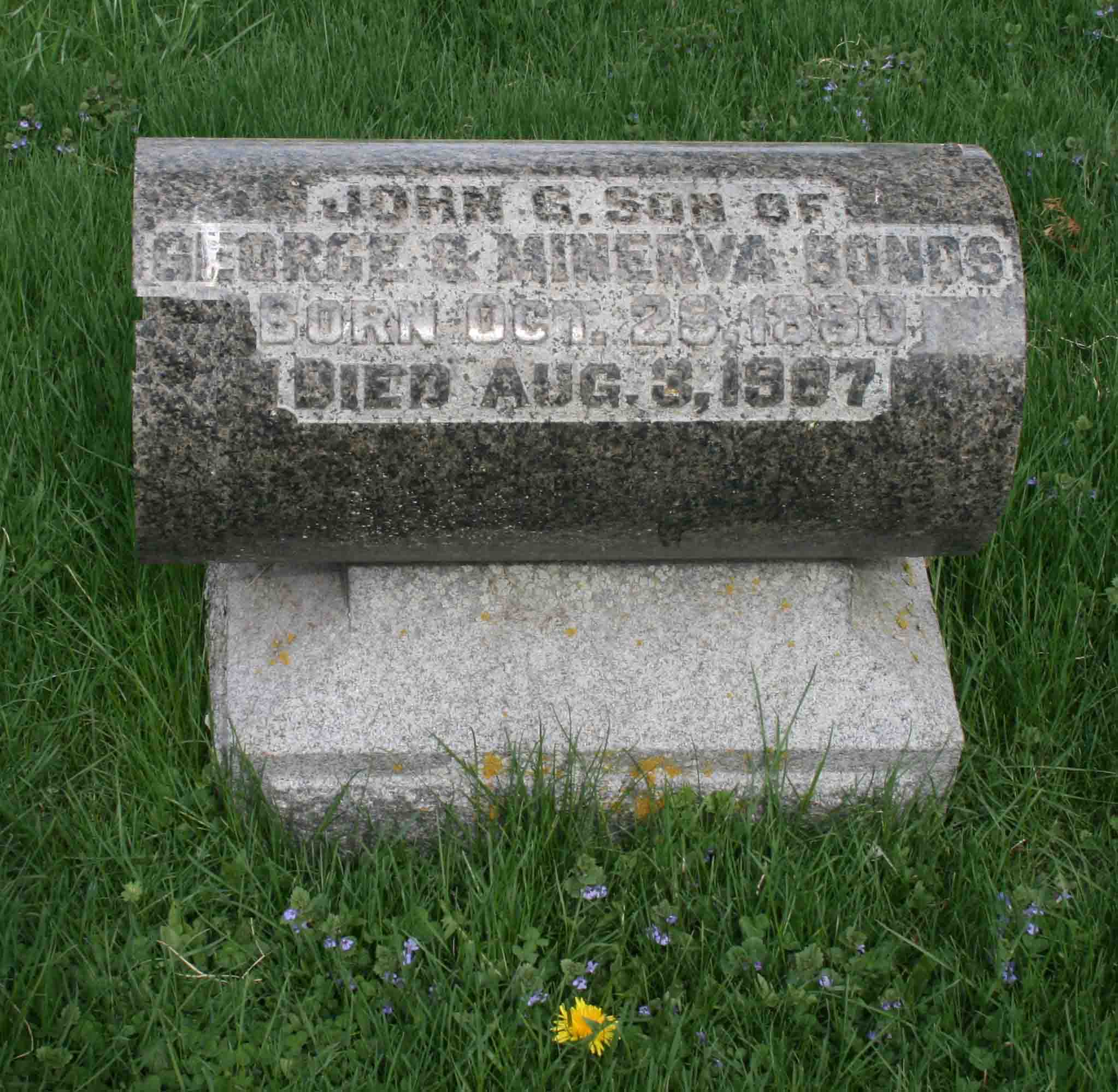 John G Bonds