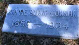 Mrs Bettie <i>Stone</i> Conson