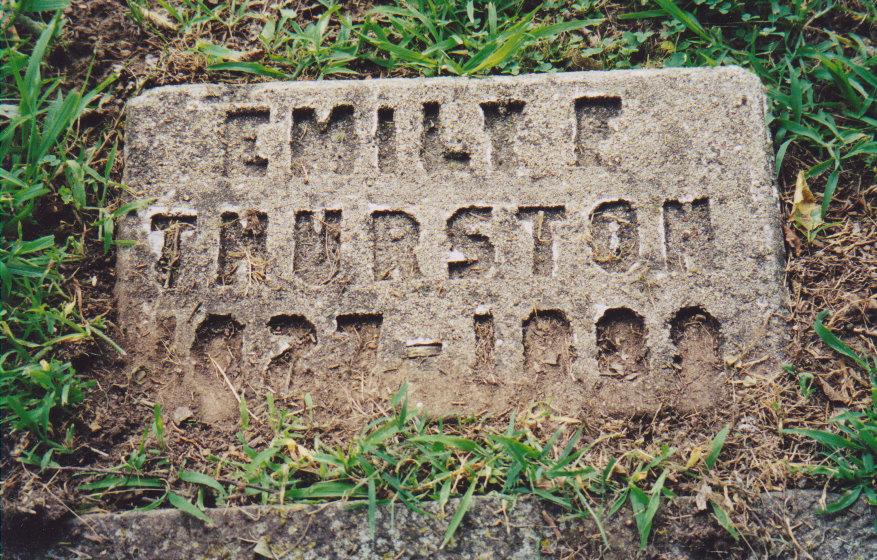 Emmeline Emily <i>Ford</i> Thurston