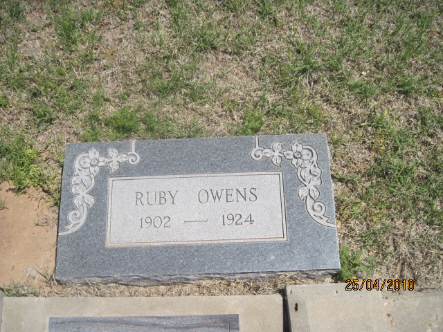 Ruby T Donnell Owens