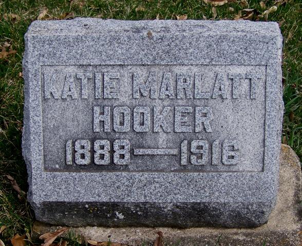 Katie <i>Marlatt</i> Hooker