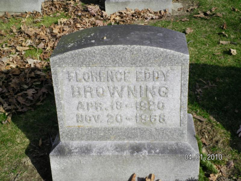 Florence Eddy Browning