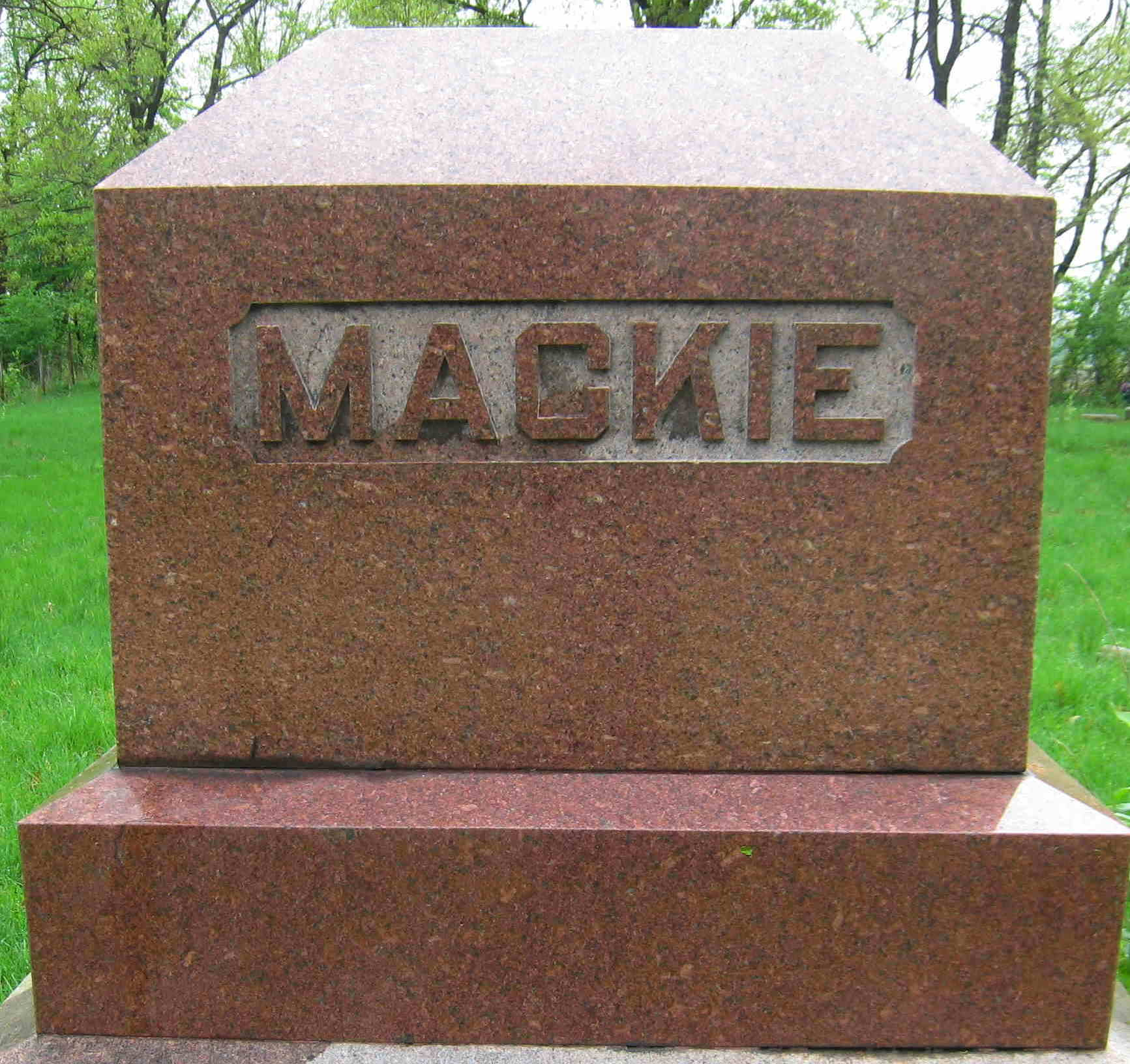 Eva C. <i>McDowell</i> Mackie