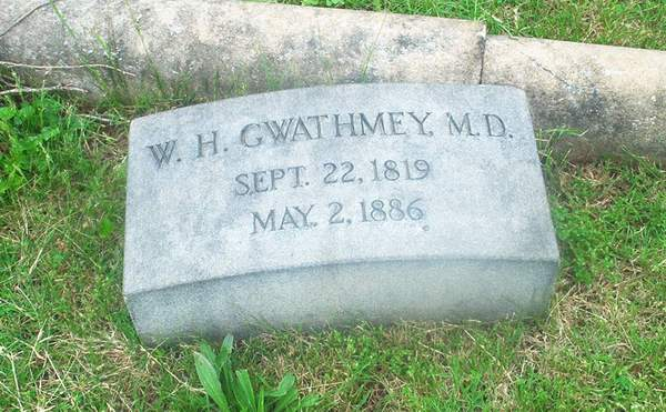 Dr William Henry Gwathmey