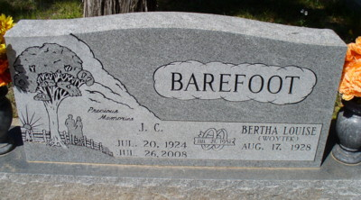 J C Barefoot
