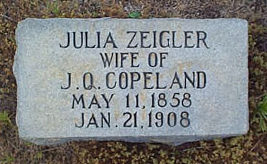 Julia <i>Zeigler</i> Copeland