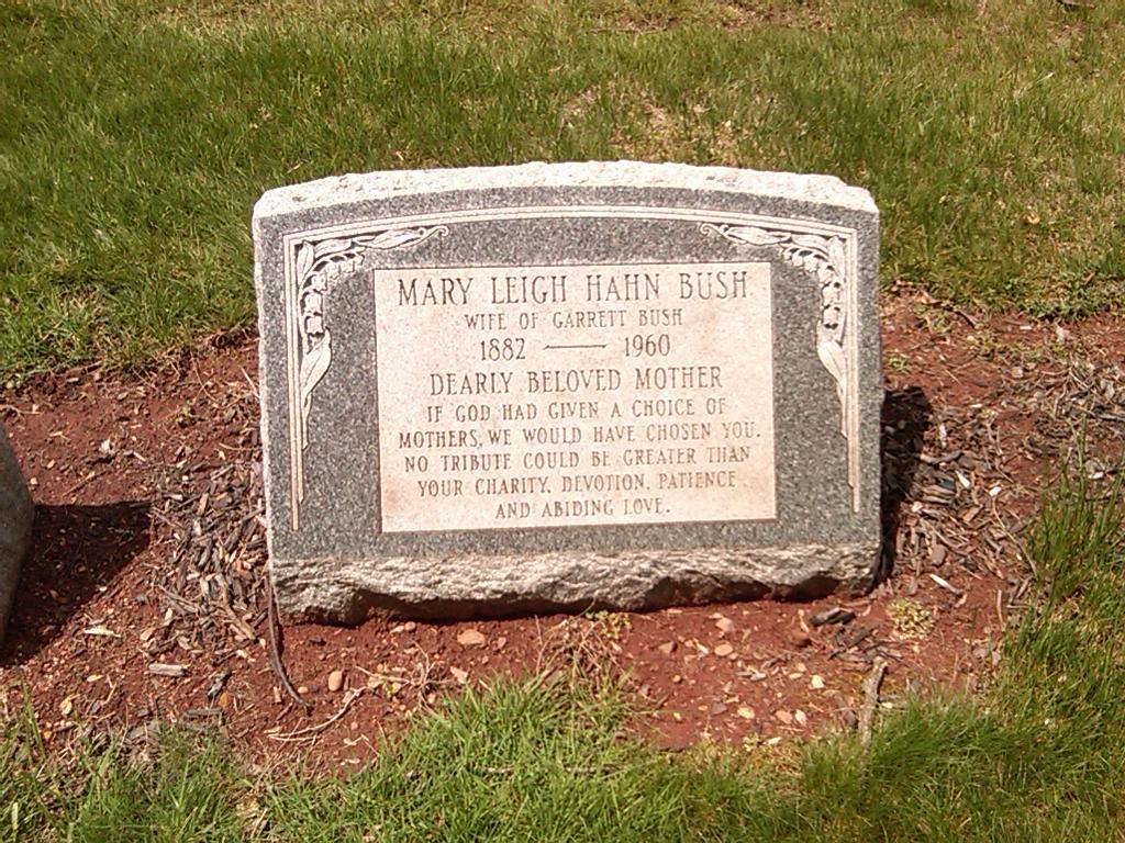Mary Leigh <i>Hahn</i> Bush