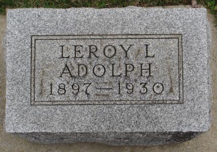 Leroy Lester Adolph