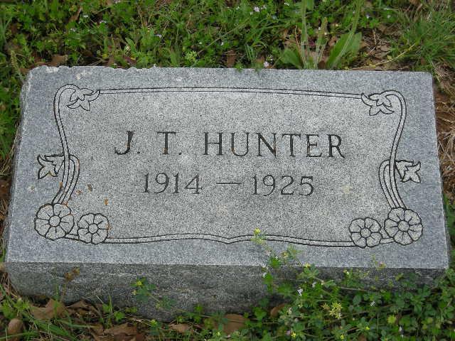 J T Hunter