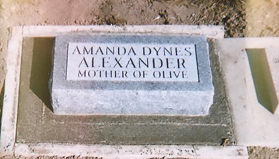Amanda <i>Dynes</i> Alexander Weaver Jones