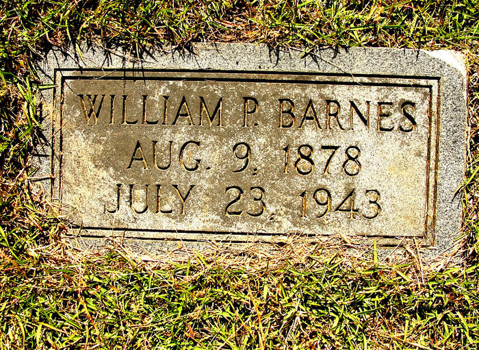 William P Barnes