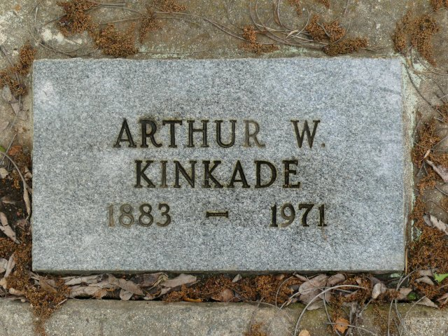 Arthur W Kinkade