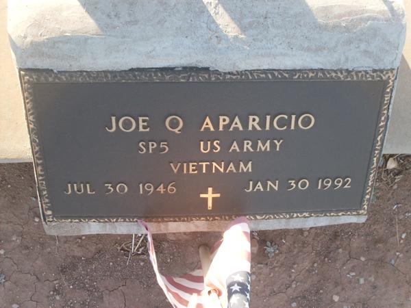 Joe Q. Aparicio