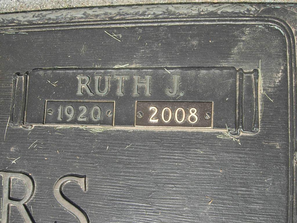 Ruth Josephine <i>Groft</i> Bowers