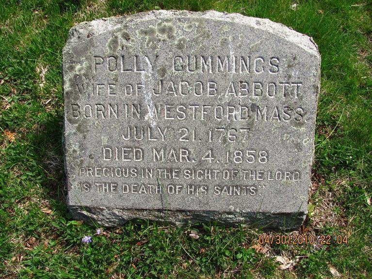 Molly <i>Cummings</i> Abbott
