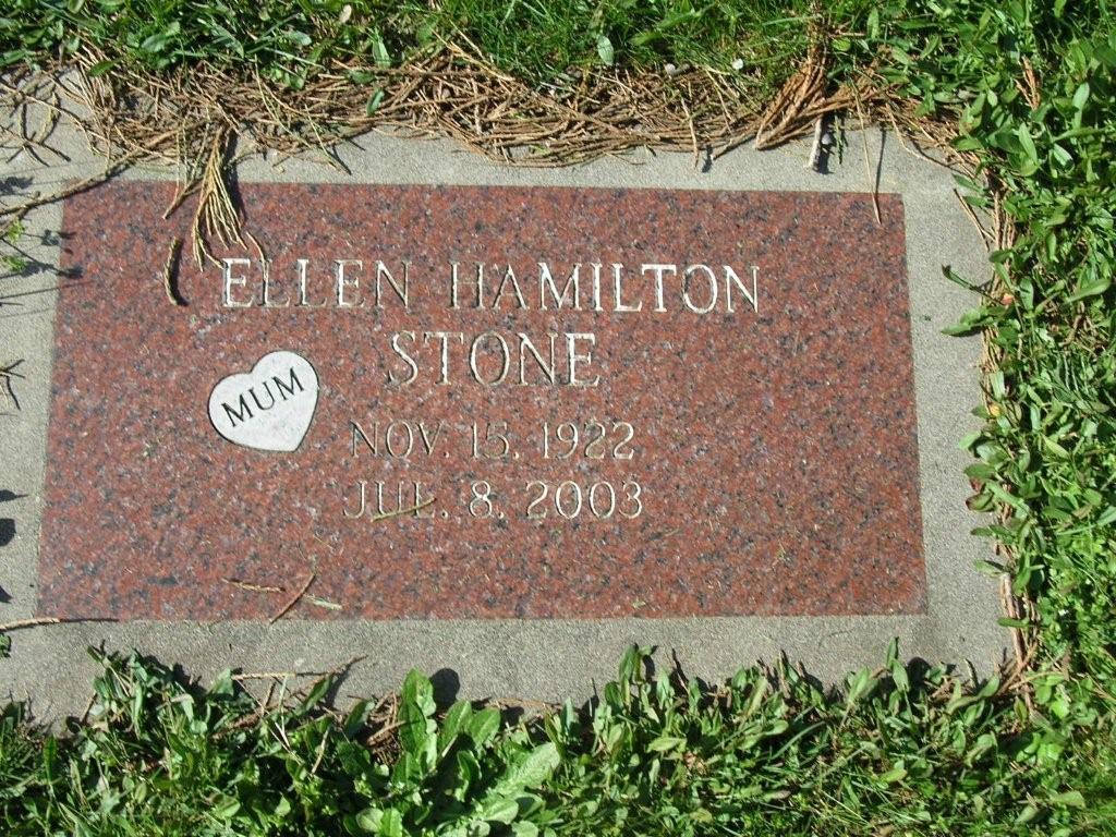 Ellen Hamilton Stone